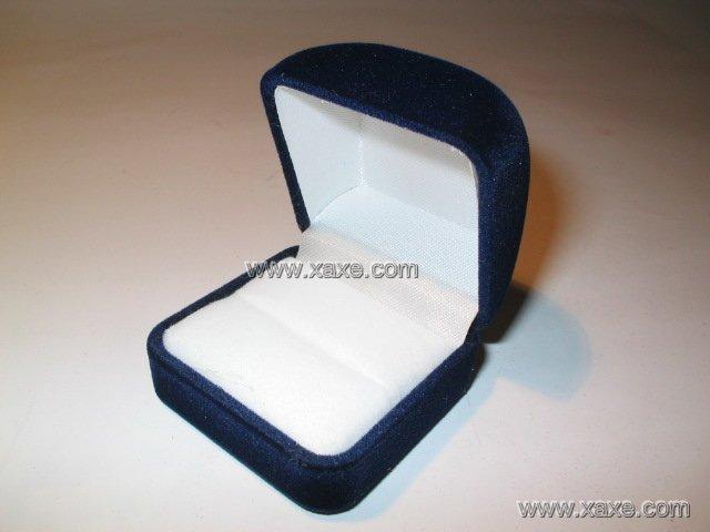 blue velvet jewelry box