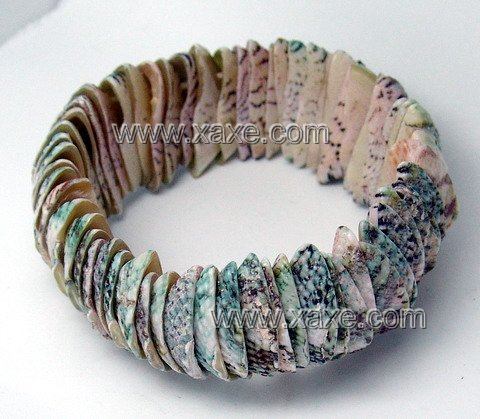 Lovely colorful shell bracelet