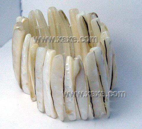 Lovely ivory long shell bracelet