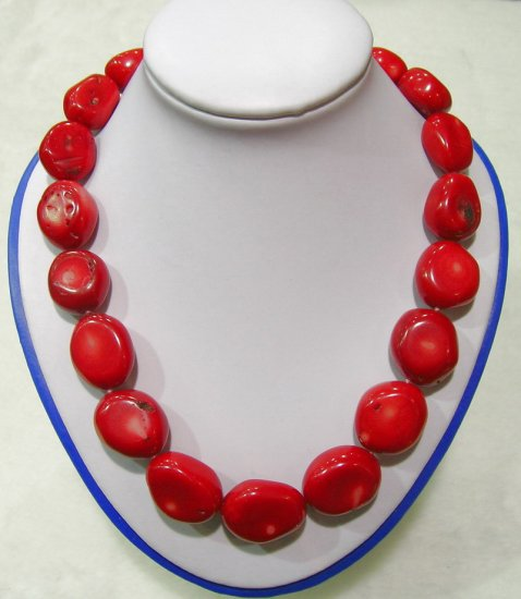 Huge Nature Coral Necklace 18inch