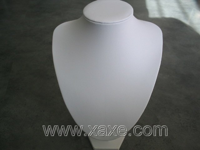 White Necklace Stand