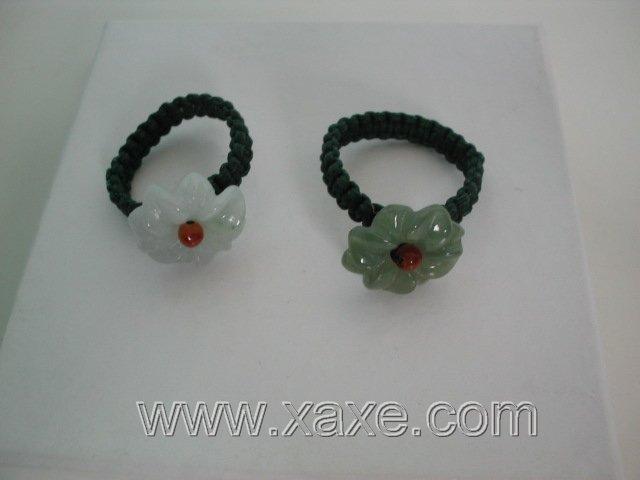 Wholesale 2pcs jade rings