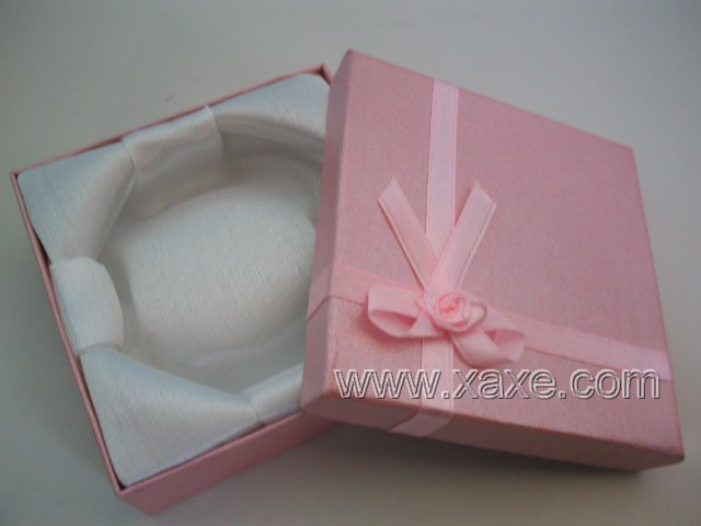 Pink Carbon Jewelry Box
