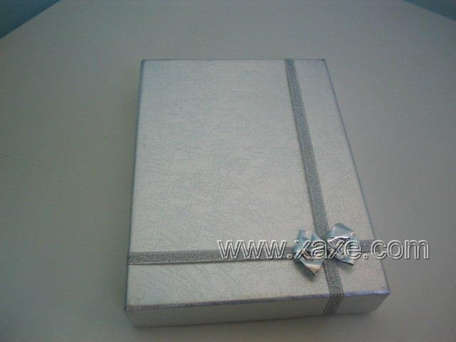 Silver Carbon Jewelry Box