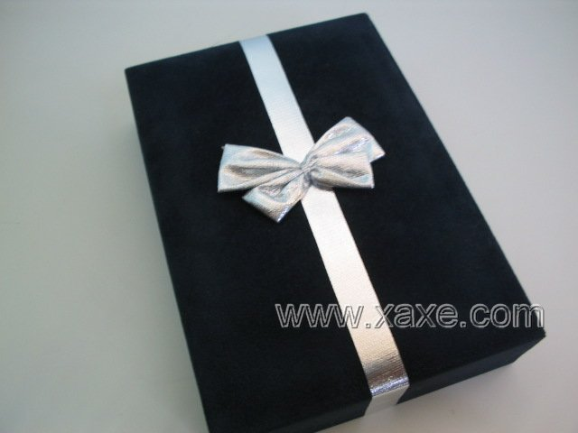 Dark Blue Velvet Jewelry Box