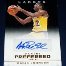 1/1 2011 PANINI PREFERRED BLACK MAGIC JOHNSON AUTO HOF LEGEND EXQUISITE TRUE 1/1