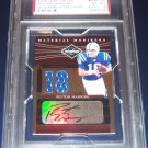 1/1 2006 LEAF LIMITED PEYTON MANNING MONIKERS JERSEY NUMBER #18/18 AUTO