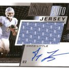 1/1 2011 SP AUTHENTIC SPX GREG LITTLE ROOKIE AUTO JERSEY 1/1 #001/225 FIRST ONE!