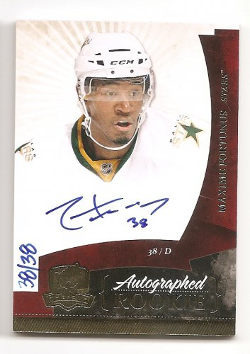 1/1 2010-11 THE CUP MAXIME FORTUNUS RC RAINBOW AUTO #38/38 1/1 HIS JERSEY #38!!