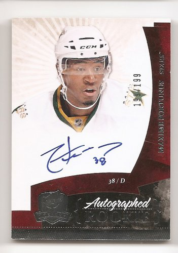 1/1 2010-11 THE CUP MAXIME FORTUNUS RC AUTO #199/199 1/1 THE LAST ONE !!