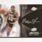 1/1 08-09 UD BLACK MAGIC JOHNSON LEVEL 1 AUTO #32/32 1/1 LAKERS LEGEND EXQUISITE