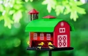 Artline Red Barn Combo Feeder
