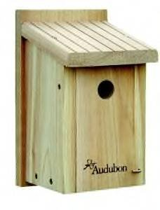 Audubon by Woodlink Cedar Wren/Chickadee House