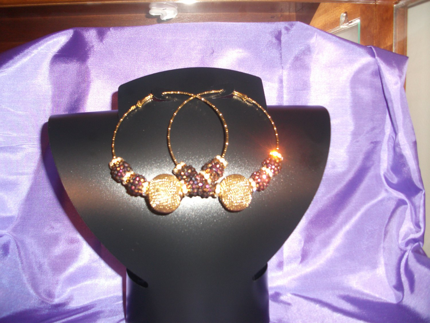 3 inch Gold bling/mesh basketball wives