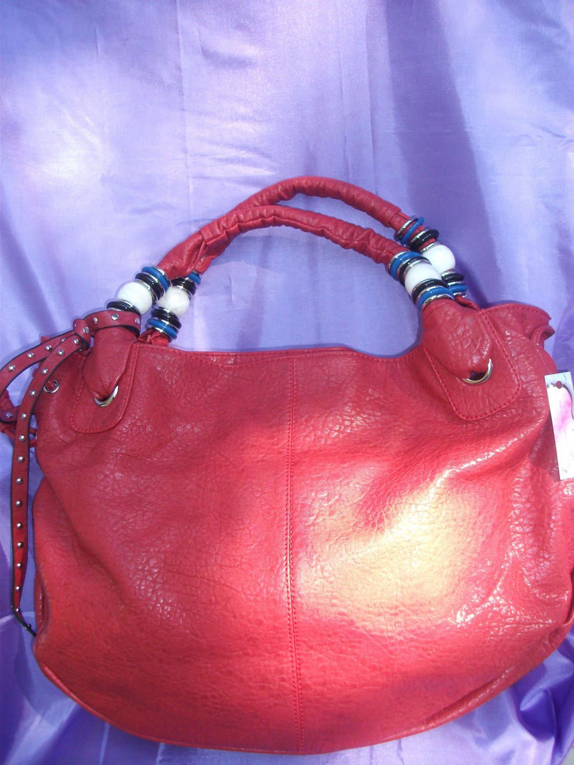 Red HOBO handbag