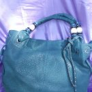 Blue HOBO handbag