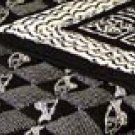 Handmade Cotton Quilt - BLACK MAGIC