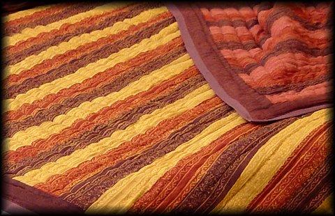 Queen Handmade Cotton Quilt - DF
