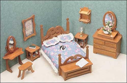 11pc Bedroom Furniture Kit