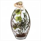 Flower/Leaves Oil Lamp Bottle