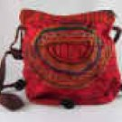 Red Guatemalan Embroidered Shoulder Bag