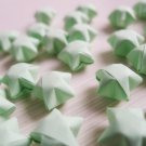 100 Origami Stars - Light Green