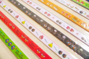 Origami Star Paper Angry Bird DIY - 70 Strips (10mm)