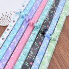 Origami Lucky Star Paper Strips Romantic Floral Mixed Designs Star Foldng DIY - Pack of 90 Strips