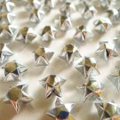 100 Liquid Silver Origami Lucky Stars -Metallic Silver Wishing Stars/Party Supply/Home Decor