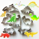 Dinosaur Cookie Cutter Set Animal Biscuit Cutter/Jurassic Cookie Mold/Baking Supply/Theme Party