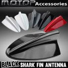 Black BMW Style Dummy Shark Fin Roof Mount Decorative Aerial Antenna Decoration