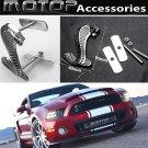 3D Metal Chrome Silver Cobra Snake Racing Front Hood Grille Badge Emblem