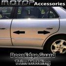 30Ft 900cm Chrome Black Car Door Edge Guard Moulding Trim DIY Protector Strip