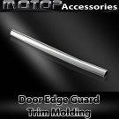 Car Chrome Silver 12Ft 370cm Door Edge Guard Moulding Trim DIY Protector Strip