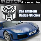 Transformers Autobot Logo 3D Metal Racing Front Badge Emblem Sticker Decal Deco