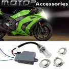 For Kawasaki 35W 8000K Motorcycle HID Headlight Kit H6M H4 BA20D Bi-Xenon Light