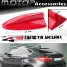 Red BMW Style Dummy Shark Fin Roof Mount Decorative Aerial Antenna Decoration