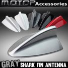 Silver BMW Style Dummy Shark Fin Roof Mount Decorative Aerial Antenna Decoration