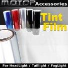"12""x60"" CLEAR Headlight Taillight Fog Light Tint Vinyl Film Sticker"