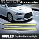 2pcs 17cm Silver High Power COB LED Daytime Running Light Lamps DRL LED White