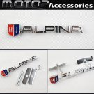 ALPINA 3D Metal Racing Front Hood Grille Badge Emblem Decoration ALPINA