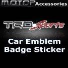 TRD-Sport Logo 3D Metal Racing Front Badge Emblem Sticker Decal Self Adhesive