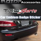 3D Metal TRD-Sport Logo Racing Front Badge Emblem Sticker Decal Self Adhesive