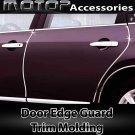 15Ft 460cm Chrome Silver Car Door Edge Guard Moulding Trim DIY Protector Strip