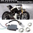 35W 6000K Motorcycle HID Headlight Kit H6M H4 BA20D Bi-Xenon Hi/Lo Set Fr BUELL