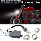 35W 4300K Motorcycle HID Headlight Kit H6M H4 BA20D Bi-Xenon Hi/Lo For Ducati