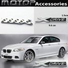 XDRIVE 3D Metal Racing Front Badge Emblem Sticker Decal Self Adhesive X-Drive