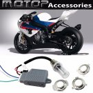 35W 4300K Motorcycle HID Headlight Kit Bi-Xenon H6M H4 Hi/Lo Light Set For BMW