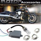 For YAMAHA 35W 4300K Motorcycle HID Headlight Kit H6M H4 BA20D Bi-Xenon Hi/Lo