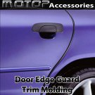 Car Chrome Black 15Ft 460cm Door Edge Guard Moulding Trim DIY Protector Strip